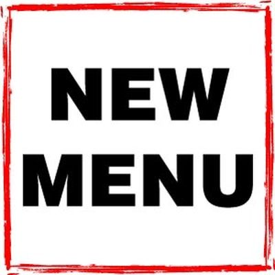 New Menu for January 2018